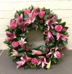Funeral Wreath by Chelmsford Florist