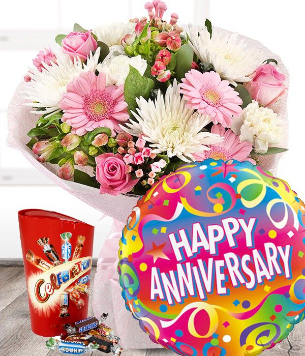 Anniversary Flowers Set