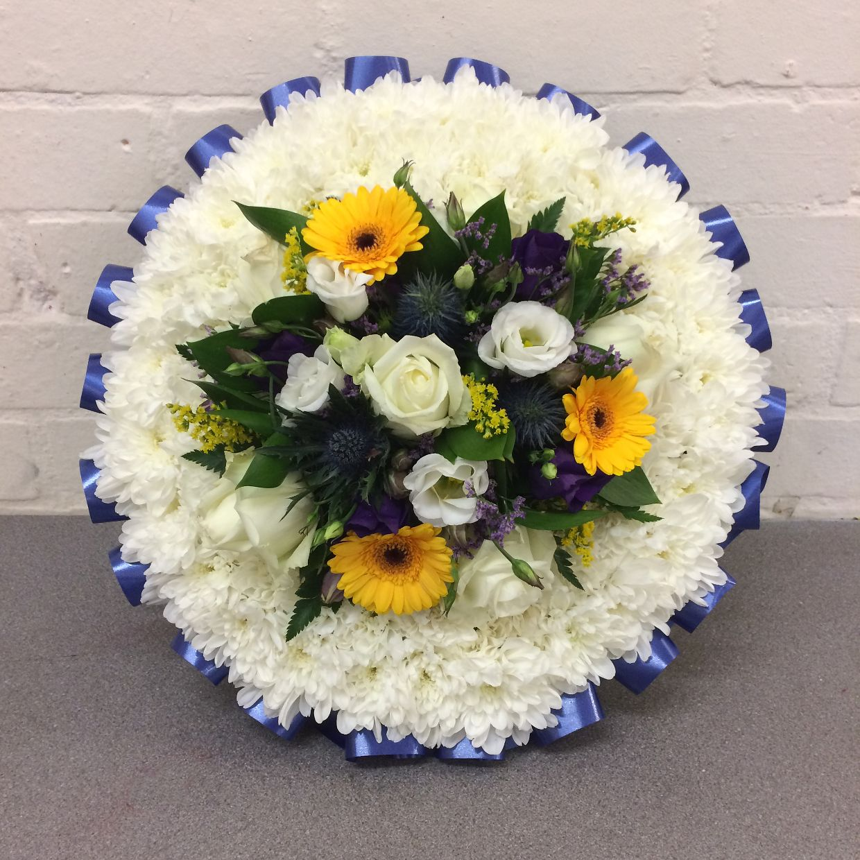 Colourful Funeral Posy Tributeblossom Florists For Funeral Flower