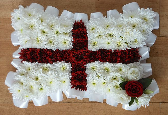 Funeral Pillow Flag