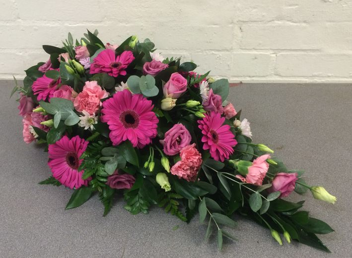Gerbera Single Ended Funeral Spray