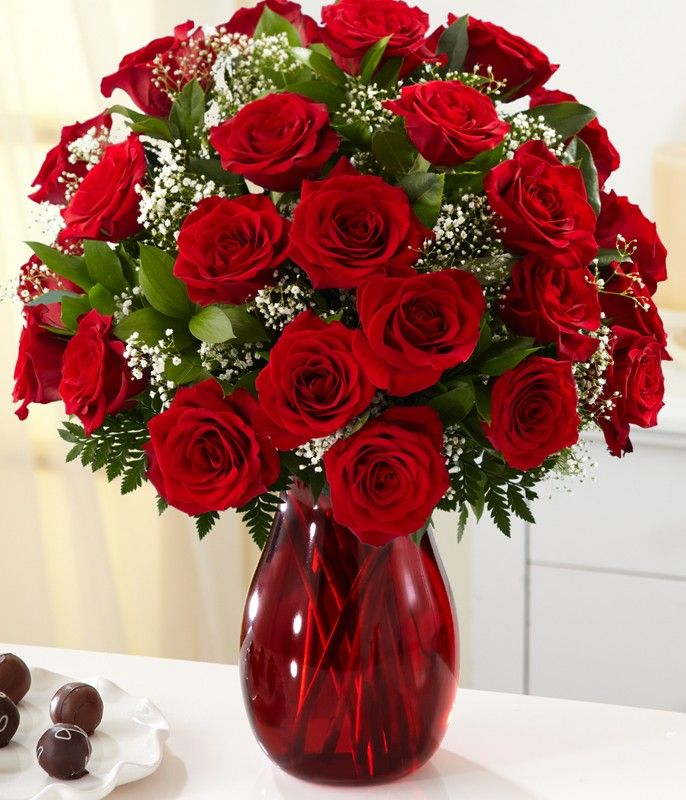 Twenty Four Red Roses