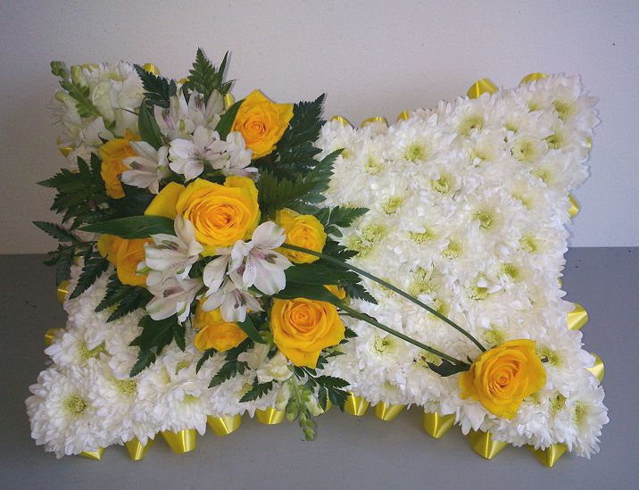 Yellow Funeral Pillow