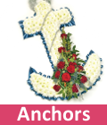 Funeral Anchor flowers for Essex delivery