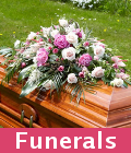 Funerals flowers wreaths and tributes by local florists in Essex