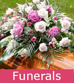 Coggeshall Flowers for funeral tributes by local florist
