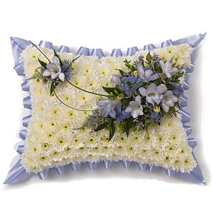 Funeral pillows sign of restful sleep in Chelmsford