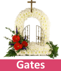 Funeral gates of heaven