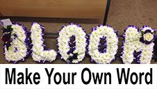 Make you own funeral letters