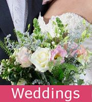 Braintree wedding flowers by local florists